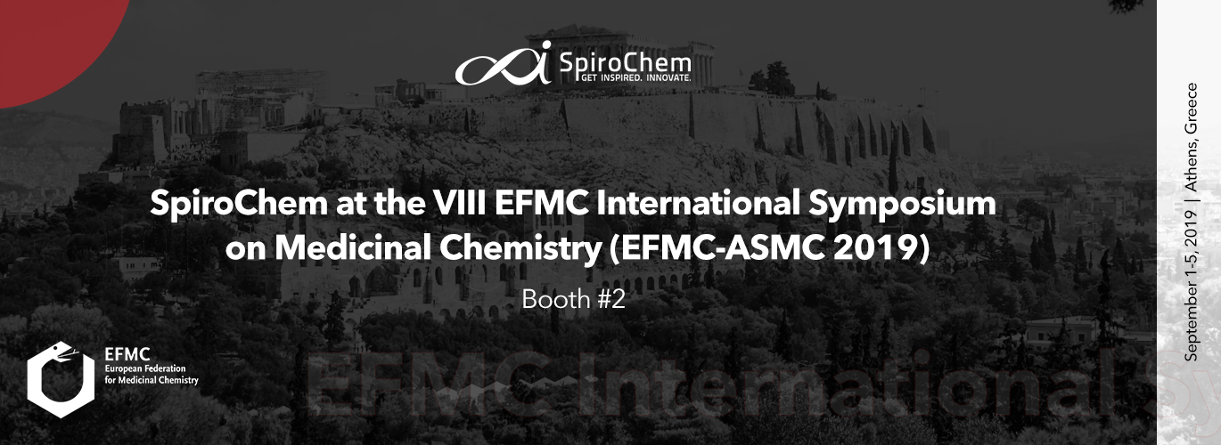 SpiroChem at the VIII EFMC International Symposium on Advances in Synthetic and Medicinal Chemistry
