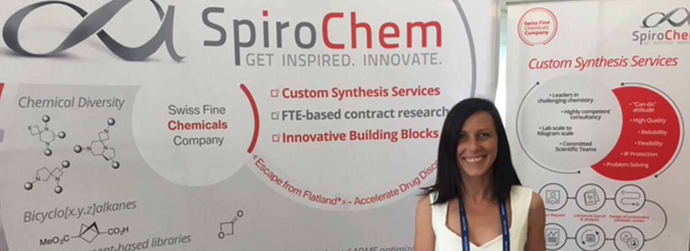 Welcome at RICT 2017 | SpiroChem - Booth #15.