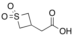 2-(1,1-Dioxidothietan-3-yl)acetic acid