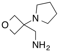 [3-(pyrrolidin-1-yl)oxetan-3-yl]methanamine