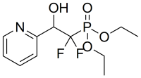 diethyl (1,1-difluoro-2-hydroxy-2-(pyridin-2-yl)ethyl)phosphonate