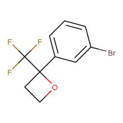 2-(3-bromophenyl)-2-(trifluoromethyl)oxetane