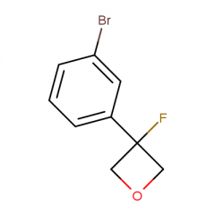 3-(3-bromophenyl)-3-fluorooxetane