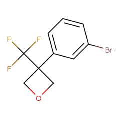 3-(3-bromophenyl)-3-(trifluoromethyl)oxetane