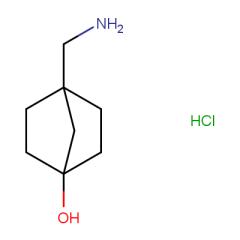 4-(aminomethyl)bicyclo[2.2.1]heptan-1-ol hydrochloride