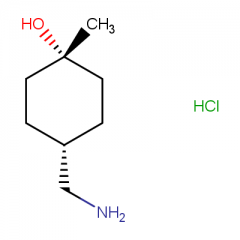 (1s,4s)-4-(aminomethyl)-1-methylcyclohexan-1-ol hydrochloride