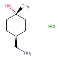 (1r,4r)-4-(aminomethyl)-1-methylcyclohexan-1-ol hydrochloride