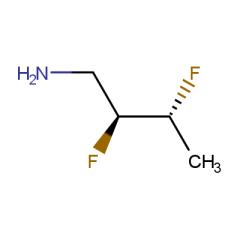 (2S,3R)-2,3-difluorobutan-1-amine