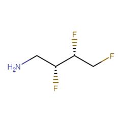 (2R,3R)-2,3,4-trifluorobutan-1-amine