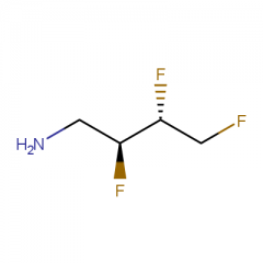 (2S,3R)-2,3,4-trifluorobutan-1-amine