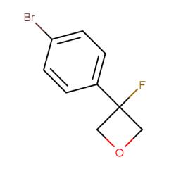 3-(4-bromophenyl)-3-fluorooxetane
