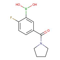 2-Fluoro-5-(pyrrolidine-1-carbonyl)phenylboronic acid